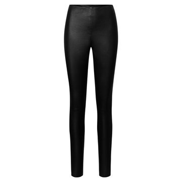 Depeche Stretch legging- black - Skindbukser chinos style 50180