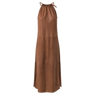 Depeche Long Dress 50174 Tobacco