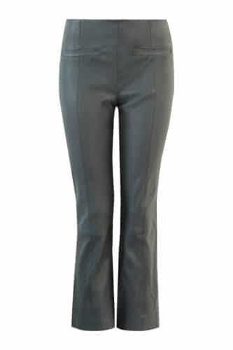 Fine Cph. Ally Cropped Pant - Charcoal Grey skindbukser - 20691 Grå