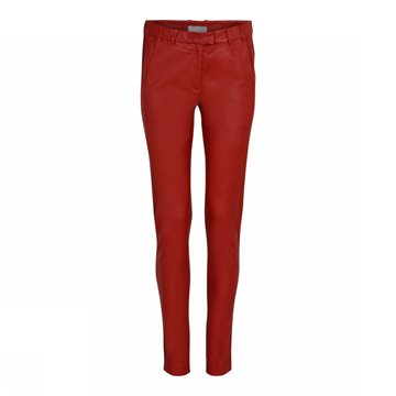 GUSTAV STRETCH LAMB LEATHER PANTS / SKIND BUKSER
