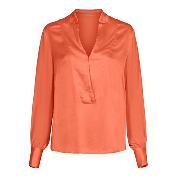 GUSTAV BLAZER SHIRT / ORANGE SKJORTE