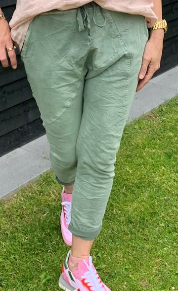 Cabana Living Emma Baggy Jogger - CL Jeans - Military