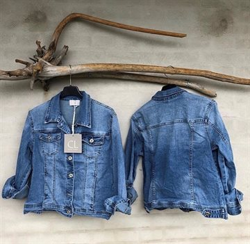 Cabana Living Cowboy Jakke blue denim