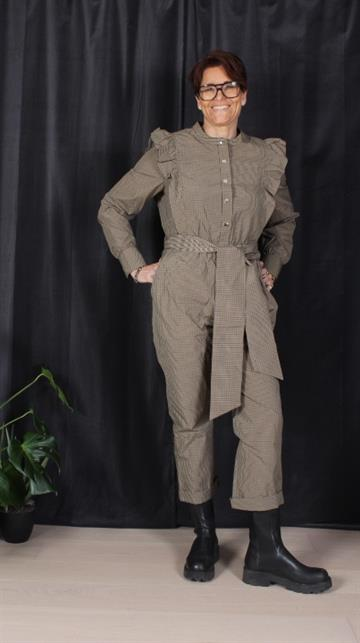 CUSTOMMADE NIELA CHECKS JUMPSUIT / TERNET BUKSEDRAGT