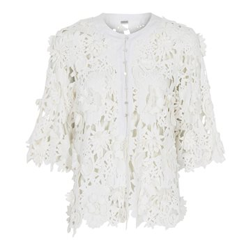 Gustav Juliet Lace top 41612 Bright White