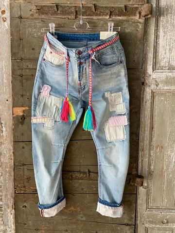 Cabana Living DY-606/660 SPRING ROSE PATCH Denim jeans