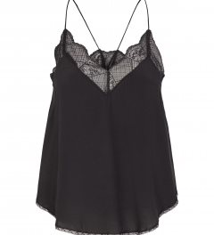 Co´Couture Oman Lace Singlet blonde top sort